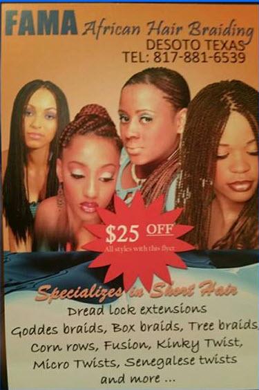 Fama African Hair Braiding