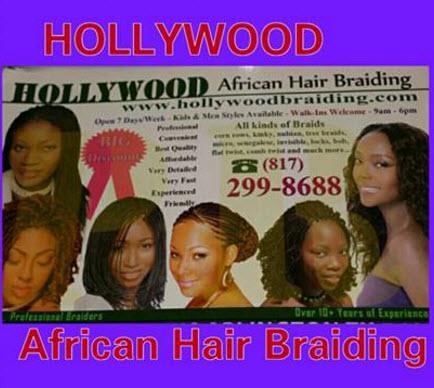 Hollywood African Hair Braiding